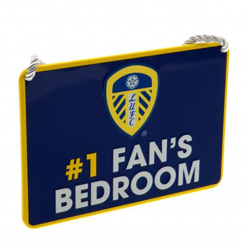 Leeds United F.C. Bedroom Sign No1 Fan