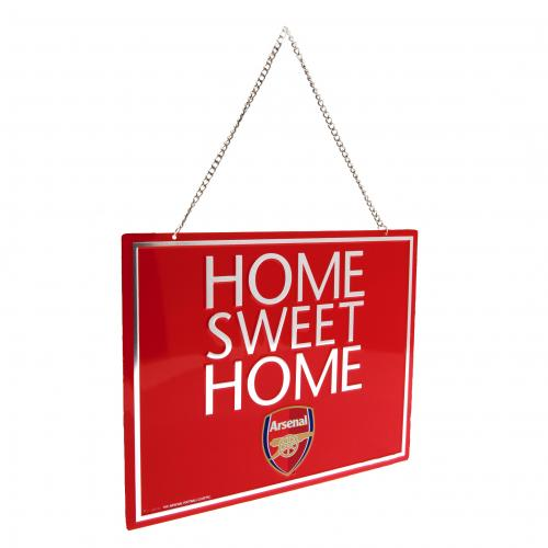 Arsenal F.C. Home Sweet Home Sign