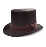 ASSASSIN'S CREED Syndicate Unisex Jacob Frye's Victorian Top Hat, One Size, Black/Burgundy