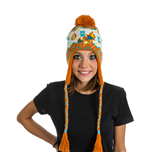 POKEMON Unisex Charizard Laplander Earflap Beanie, One Size, Multi-Colour