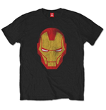 Marvel Comics Men's Tee: Iron Man Distressed