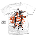 Marvel Comics Men's Tee: Marvel Montage 2.