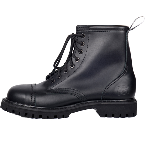 Mode Wichtig 8-Eye Steel Boots Leather