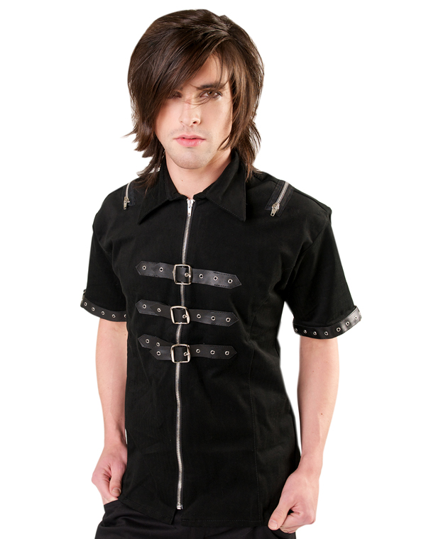 Black Pistol Shackle Shirt Denim