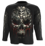Death Bones - Longsleeve T-Shirt Black