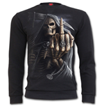 Bone Finger - Heavy Pique Sweat Shirt