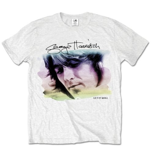 George Harrison Men's Tee: Water Colour Portrait
