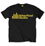 Abbey Road Studios Men's Tee: Yellow Main Logo