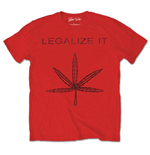 Peter Tosh Men's Tee: Legalize It