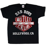 Motley Crue Toddler's Tee: Bad Boys Shield