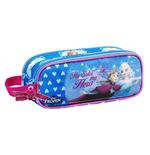 Frozen (Blue) pencil case double