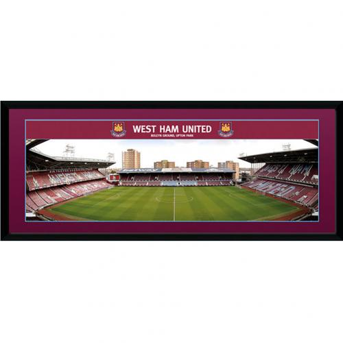 West Ham United F.C. Picture Boleyn Ground 30 x 12