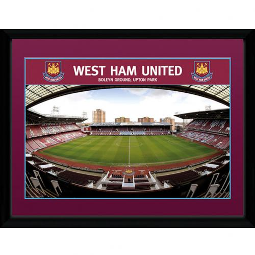 West Ham United F.C. Picture Boleyn Ground 16 x 12
