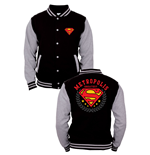 Superman Baseball Varsity Jacket Metropolis