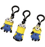 Despicable me - Minions PVC Keychain with clip
