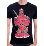 Deadpool T-shirt Deadpool Pose Black