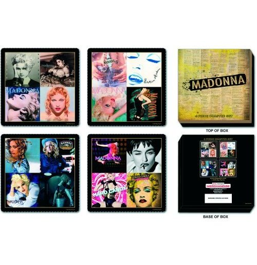 Madonna - Albums Covers Set of 4 Coaster