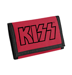 Kiss Wallet - Logo (Black On Red)