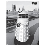 Doctor Who Metal Sign - Dalek