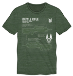 Halo 5 T-Shirt Battle Rifle