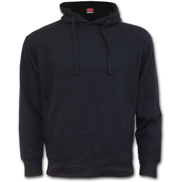 Metal Streetwear - Side Pocket Hoody Black