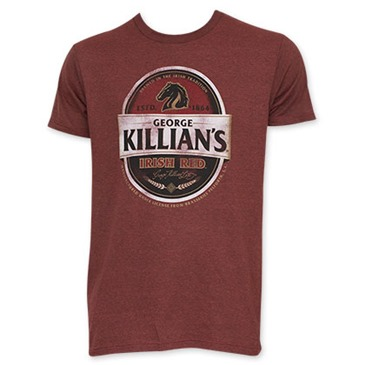 KILLIAN'S Irish Red Men's Red Tee Shirt