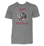 MILLER High Life Girl In The Moon Tee Shirt