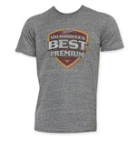 Milwaukee's Best Premuim Grey Tee Shirt