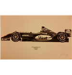 F1 Print McLaren MP3/19B Raikkonen 2004 - Limited Edition