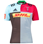 2015-2016 Harlequins Adidas Home Rugby Shirt