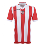 2015-2016 AC Ajaccio Authentic Home Match Shirt