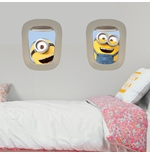 Minions Wall Sticker Air