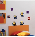 Minions Wall Sticker Dracula