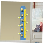 Minions Wall Sticker Meter