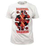 DEADPOOL Men's White Wildcard Tee Shirt