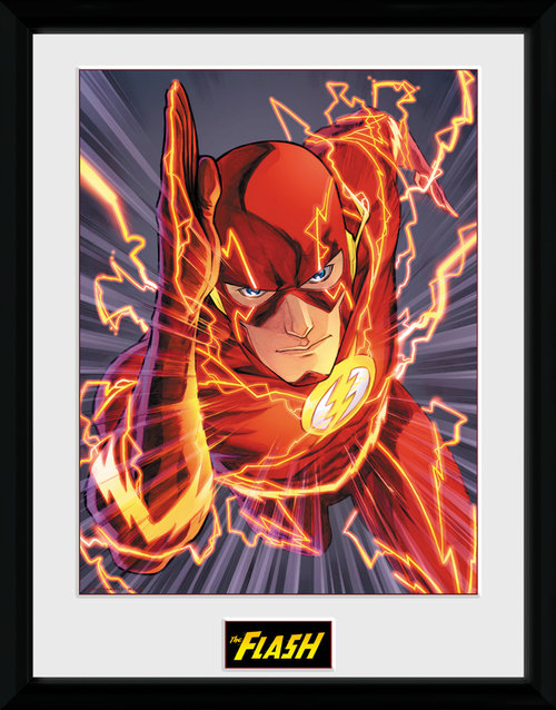 Justice League The Flash Framed Collector Print