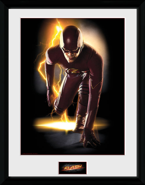 The Flash Speed Framed Collector Print