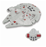 Star Wars Episode VII RC Vehicle with Sound & Light Up Millenium Falcon 26 cm