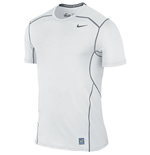 Nike Pro Hypercool 2.0 Fitted Short Sleeve Top (White)