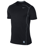 Nike Pro Hypercool 2.0 Fitted Short Sleeve Top (Black)