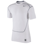 Nike Pro Combat Hypercool Compression SS Top (White)
