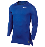 Nike Pro Combat Cool Compression LS Top (Royal Blue)