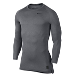 Nike Pro Combat Cool Compression LS Top (Carbon Heather)