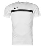 Nike Mens Academy SS Training Top (White)
