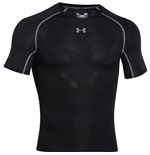 Under Armourvent Heatgear Armourvent Compression SS Tee (Black)
