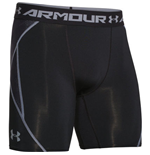 Under Armour Heatgear Armourvent Compression Shorts (Black)