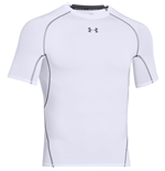 Under Armour Heatgear Armour Compresion SS Tee (White)