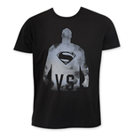 Junk Food Black Superman VS Tee Shirt