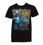 ADVENTURE TIME Starry Night Tee Shirt