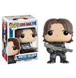 Captain America Civil War POP! Vinyl Bobble-Head Winter Soldier 10 cm
